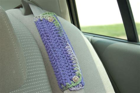 seat belt cover pattern how to crochet a motoring gift