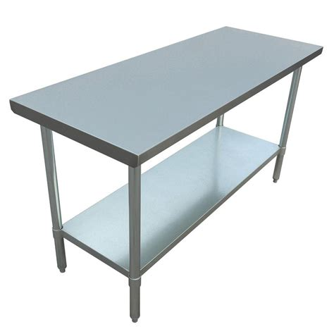 excalibur stainless steel kitchen utility table