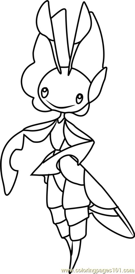 pokemon coloring pages leavanny leavanny pokemon coloring page free pok 233 mon coloring