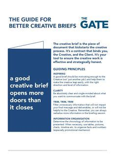 visual communication design brief creative briefs google search visual communication