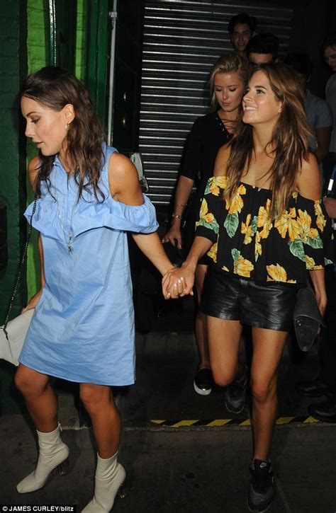 chelsea daily mail louise thompson enjoys a night out with binky felstead and