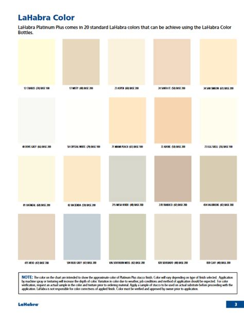 stucco color chart lahabra stucco color charts resource page with downloads