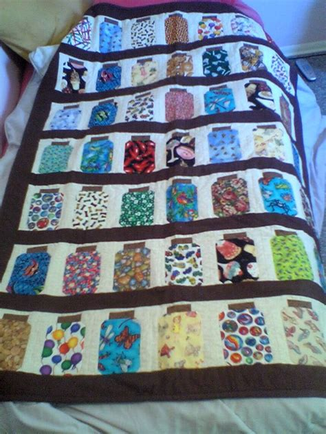 Jar Quilt Pattern by 61 Best Images About Library Bookshelf Jar Quilts On