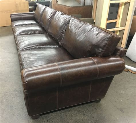 Brompton Leather Sofa Brompton Leather Sofa Splendor Brompton Leather Sofa The Dump America S Furniture Outlet Thesofa
