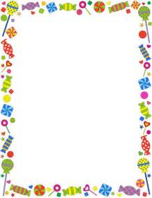 a candy themed page border free downloads at http pageborders org download candy border