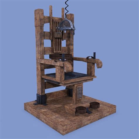 Electric Chair by 3ds Max Electric Chair