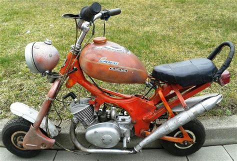Mini Motorrad Eigenbau by Startseite