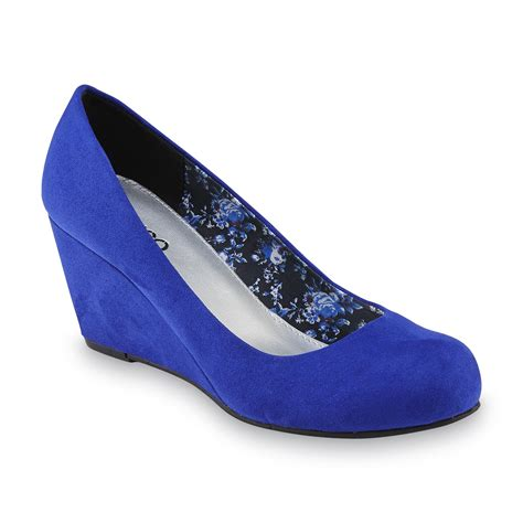 Blue Wedge Heels Wedding by Royal Blue Wedge Heels Is Heel