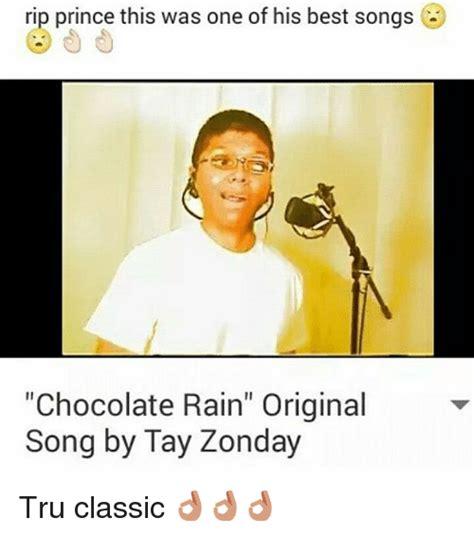 Chocolate Rain Meme - rip prince this was one of his best songs chocolate rain