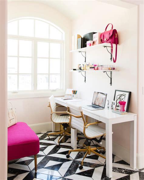 light pink bedroom chair beauty pinterest rachel parcell pink peonies office reveal pink