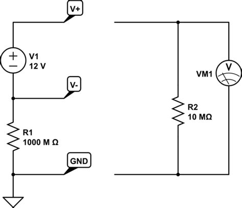 capacitors between power and ground measure voltage difference between ground and dc floating power supply lines electrical