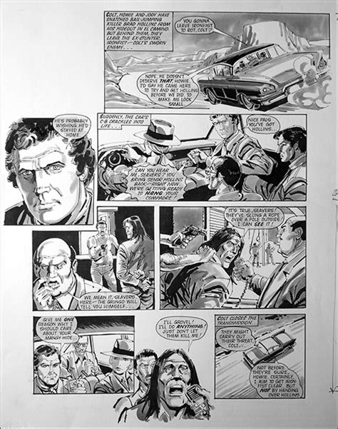 Fall Guy - I'll Do Anything (TWO pages) by Jim Baikie at