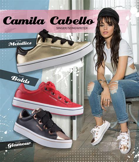 Skechers X Camila Cabello by Camila Cabello Introducing Skecher Hi Lites Collection
