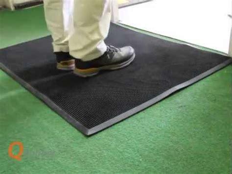 alfombra de goma  puntas youtube