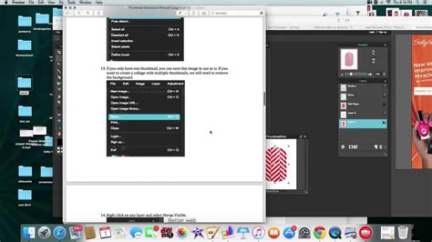 template pattern youtube thumbnail template tutorial youtube
