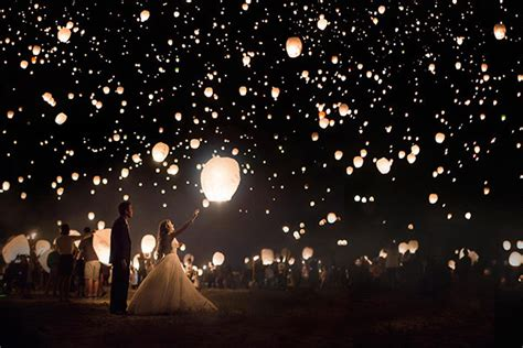 Wedding Wishes Lanterns by 30 Wedding Send Ideas For The Exit The