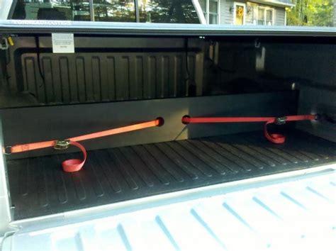 truck bed divider hitchmate cargo stabiload divider bar for pickup truck