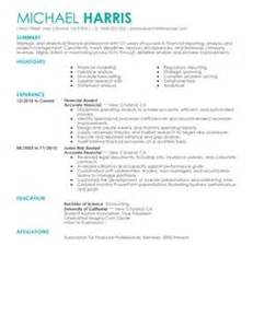 accounts and finance resume format simple accounting finance resume exles livecareer