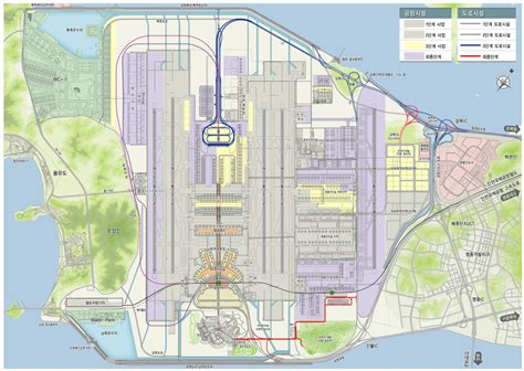 incheon airport floor plan incheon airport terminal 2 to open in 2018 kojects