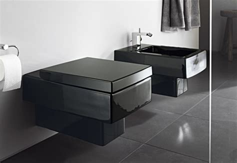 black bathroom toilet vero black wall toilet by duravit stylepark
