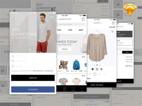 mobili in kit top 50 free mobile ui kits for ios android