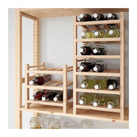 etagere jysk hutten 9 bottle wine rack solid wood ikea