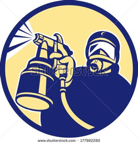 spray paint logo spray gun stock photos images pictures
