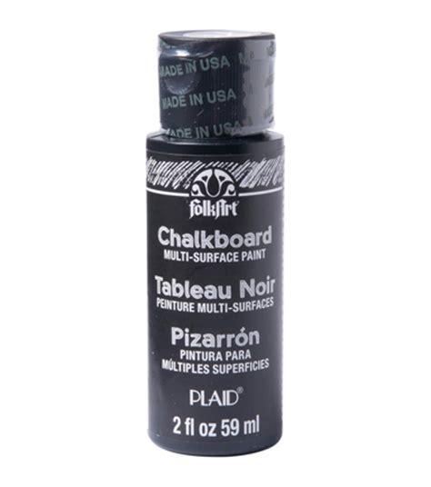 chalk paint joann folkart multisurface chalkboard paint 2oz black jo