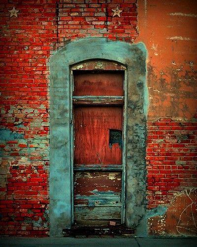 green and door way complementary green