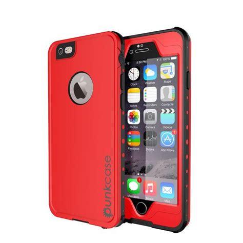 iphone   waterproof case punkcase studstar red