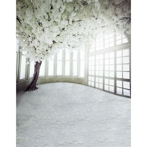 Wedding Background Photography Studio Hd by Customize Vinyl Cloth Print White Floral House Photo