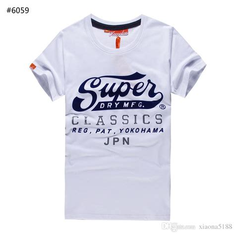 Superdry Casual Tshirt brand new 2017 design superdry t shirt s