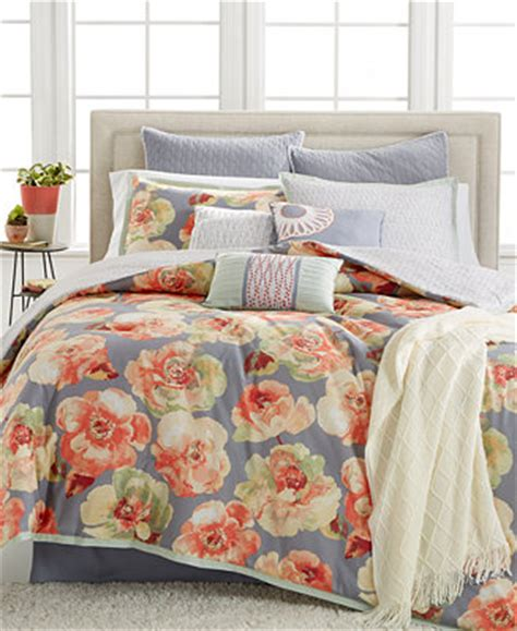 macys bed in a bag kelly ripa home magnolia 10 pc queen comforter set only