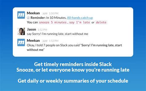 doodle poll expiration meekan scheduling slack app directory