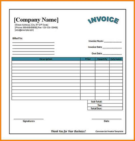 excel layout in word 4 bill format excel sheet simple bill