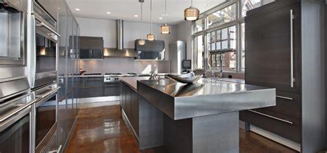 cocinas de acero inoxidable  casa