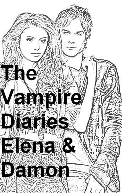 coloring pages vire diaries free the diaries coloring page other listia