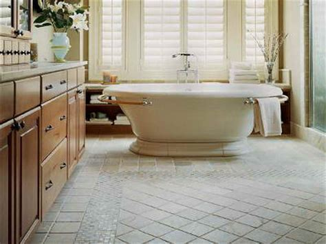 bathroom what are the tile floor designs for