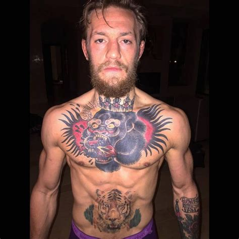 what tattoo does mcgregor have tattoos and fighting do they make you a better fighter