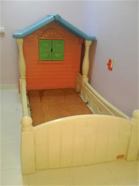 Tikes Cottage Bed by Mybundletoys Tikes Cottage Playhouse 2 Toddler Bed