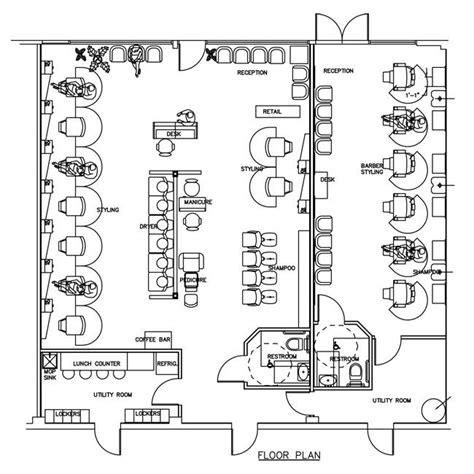 salon spa floor plan design layout 3105 square foot beauty salon floor plan design layout 2040 square foot