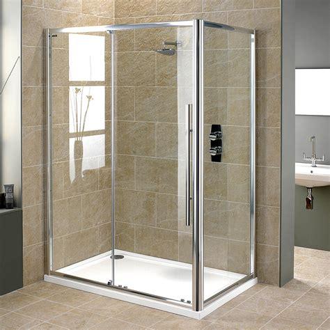 Showerlux Shower Doors Showerlux Linea Touch Single Slider Shower Door 1400mm