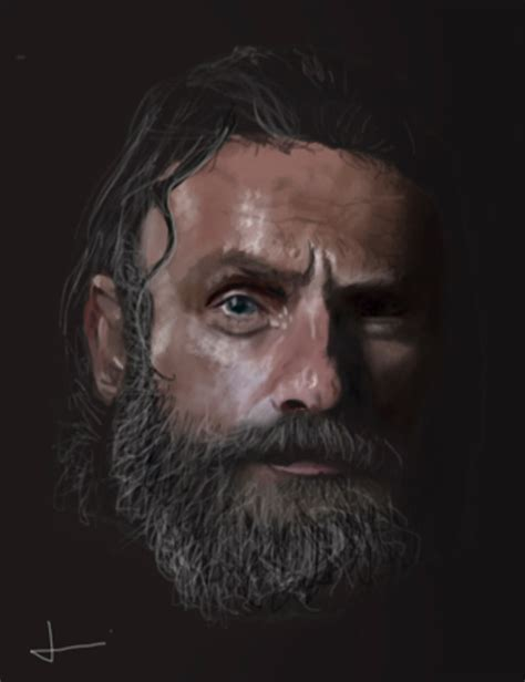 andrew lincoln rick grimes rick grimes andrew lincoln by catstevemen on deviantart