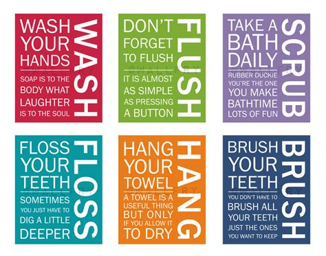 bathroom wall art sayings love these sayings for kids bathroom bathroom pinterest