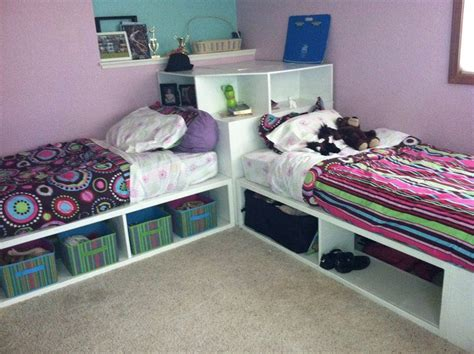 storage beds twin  corner unit    home