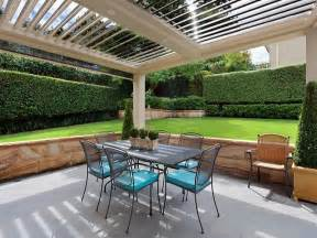 Outdoor living design with pergola from a real australian home