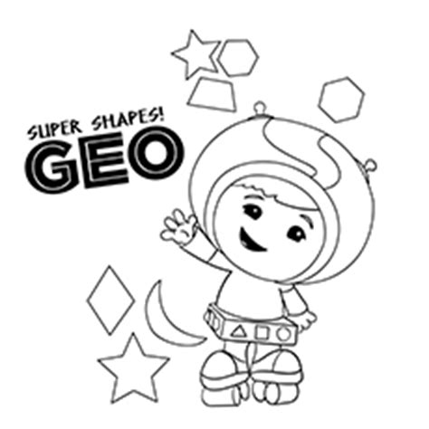 geo umizoomi coloring page team umizoomi coloring pages printable