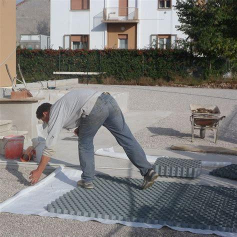 ghiaia per pavimentazioni esterne grigliato stabilizzante per ghiaia pratex pontarolo