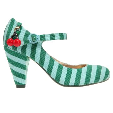Poetic License Stripe Toe Shoes by February 2012 Planet Dulcie