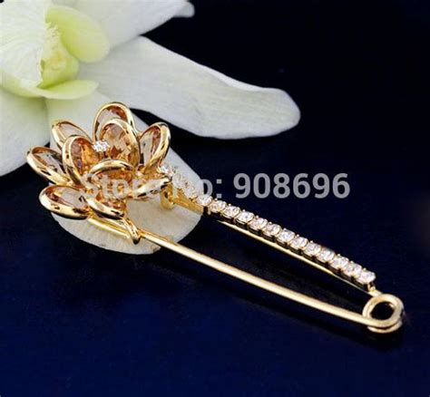 2019 diy pin brooch antiqued bronze copper silver plated kilt safety pin brooch clasps gift